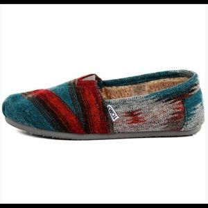 TOMS - CLASSIC WOOL SLIP-ON SHOES 8